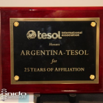 TESOL honored ARTESOL for its 25 years of affiliation at 2012 TESOL Convention in Philadelphia