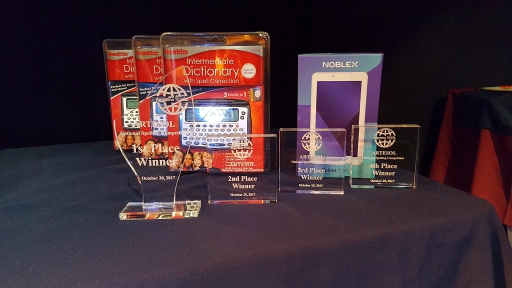 ARTESOL prizes
